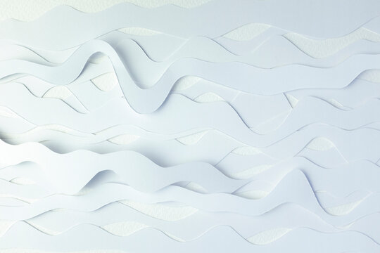 Curvy Paper Abstract
