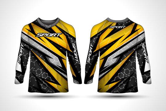 Long sleeve t-shirt sport jersey