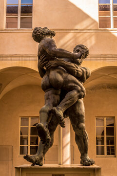 Statue of Hercules and Antaeus, Parma
