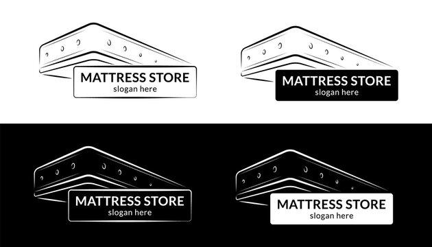 Mattress store logo