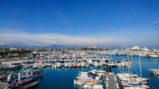 Port de la ville de Nice