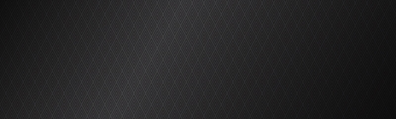 Luxurious vintage modern pattern header. Brown abstract luxury background. Vector illustration composed of rhombuses