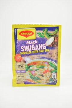 Maggi magic sinigang sampalok with gabi soup mix in Manila, Philippines