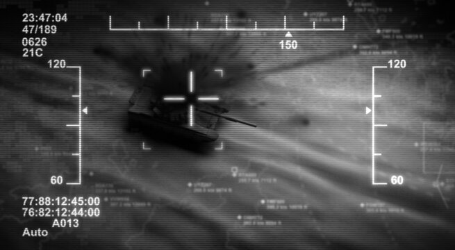 Target and Drone Attack