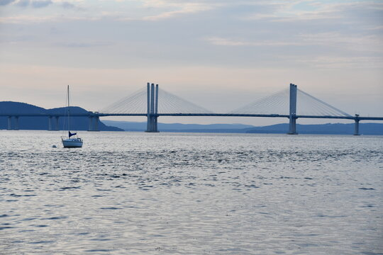 Mario Cuomo Bridge (formerly known as the Tappan Zee Bridge) in New York State