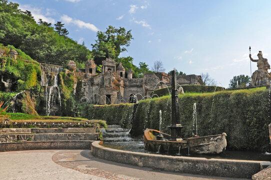 Le fontane ed i giardini di Villa d'Este - Tivoli