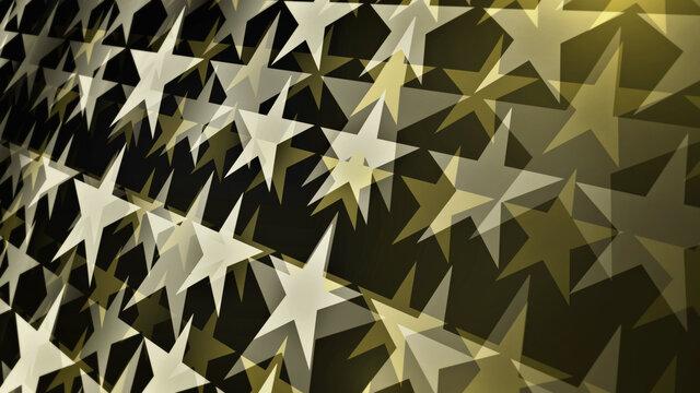 Shiny cinema stars background. A movie concept composition element