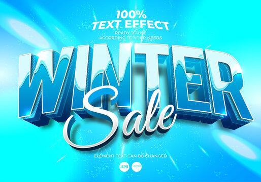 Edibtale Text Effect Winter Sale