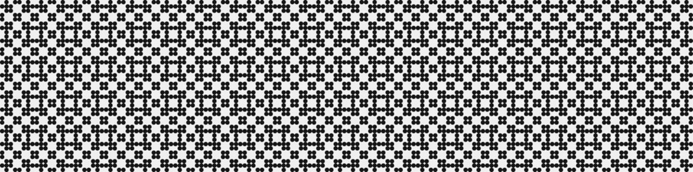 Abstract Cross Pattern Dots Logo generative computational art illustration