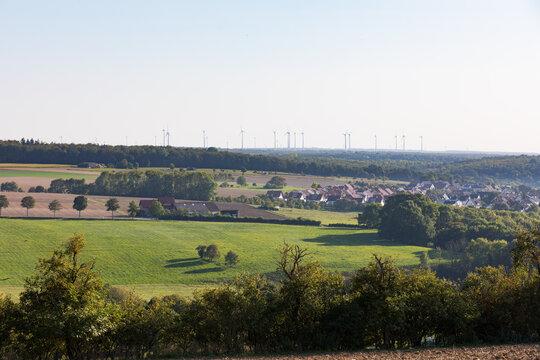 Ortschaft im ländlichen Raum