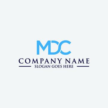 mdc original monogram logo design