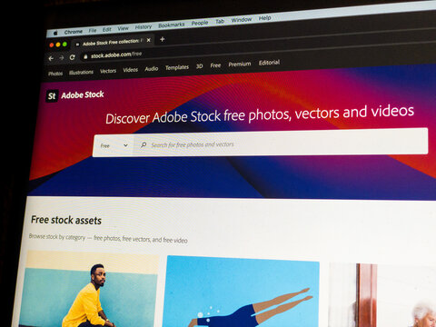 Adobe Stock Free Collection, launched October 2020 with thousands of free assets from the world's best community of artists