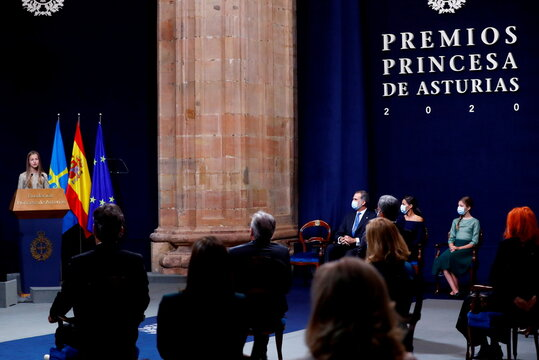 Princess of Asturias Awards ceremony in Oviedo