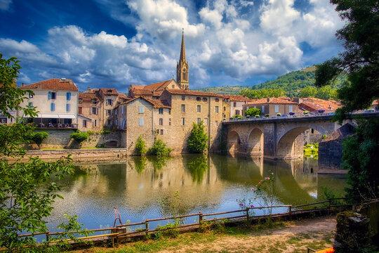 Saint-Antonin-Noble-Val, a commune in the Tarn region of France