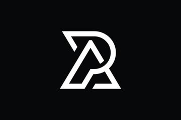 Obraz Minimal Innovative Initial AP logo and PA logo. Letter AP PA creative elegant Monogram. Premium Business logo icon. White color on background - fototapety do salonu