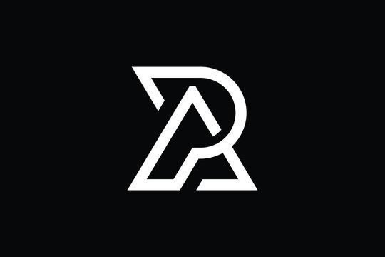 Minimal Innovative Initial AP logo and PA logo. Letter AP PA creative elegant Monogram. Premium Business logo icon. White color on background