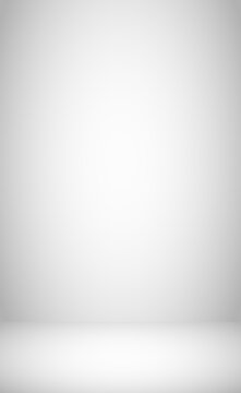White and gray room background studio - Vector