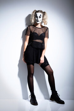 Sexy Helloween Clown Fashion