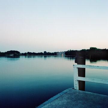 Abend am See, Bad Zwischenahn Meer, Wasser, Ruhe, Entspannung