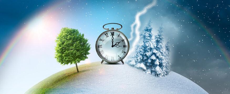 Zeitumstellung von sommerzeit auf winterzeit