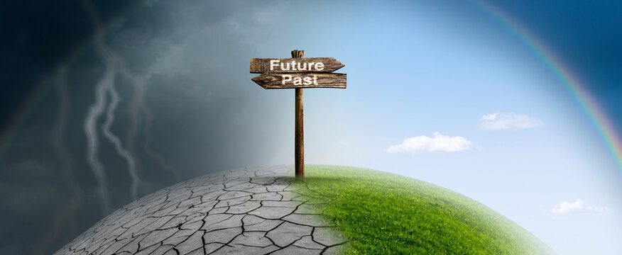 Positiver Klimawandel in die Zukunft
