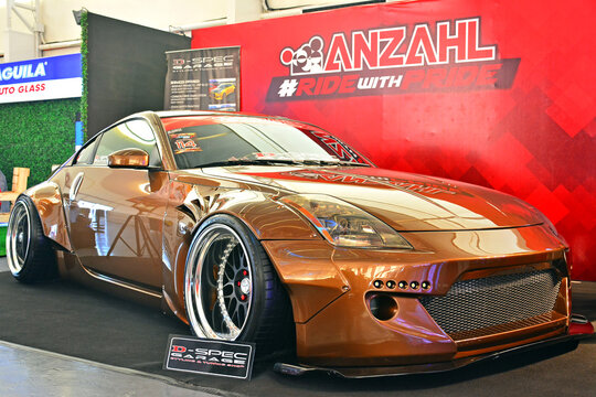 Nissan 350Z at Hot Import Nights car show in Pasig, Philippines