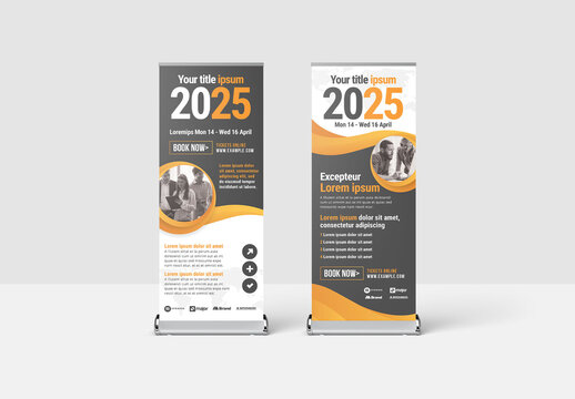 Marketing Roll Up Banner for Business Events and Corporate Seminars