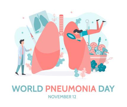 World Pneumonia Day Banner