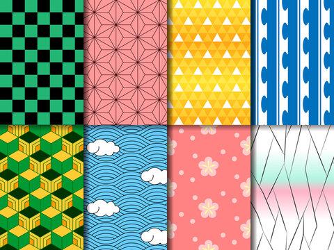 和柄パターン8種類