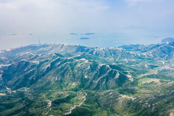 Mountain landscape, Castle Peak, Hong Kong, outdoor scenery