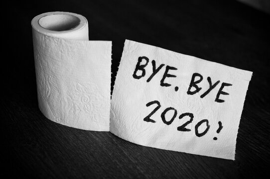 Bye bye 2020 and farewell on toilet paper