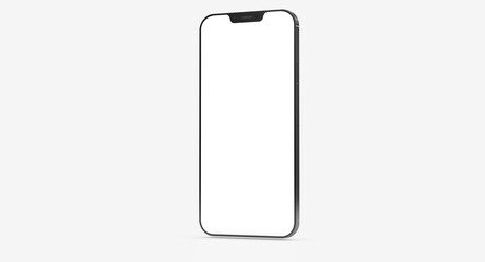 a digital smartphone device mobile phone 3d isolated