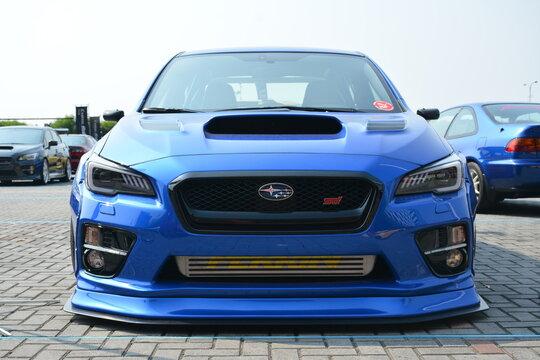 Subaru WRX STI at Bumper to Bumper 15 car show