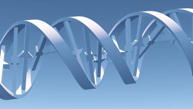 3D DNA Strand