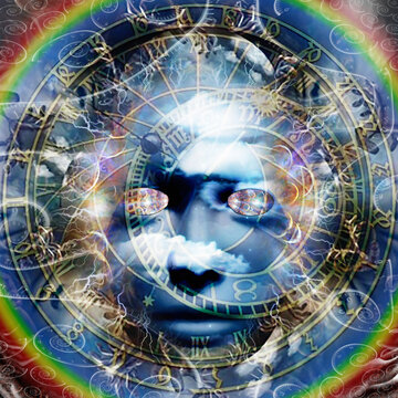 The face of mystery. Spiritual art
