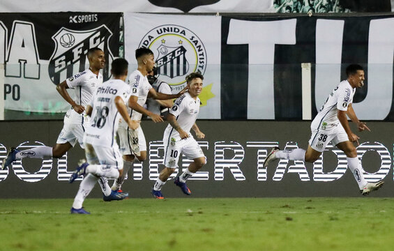 Copa Libertadores - Santos v Defensa y Justicia