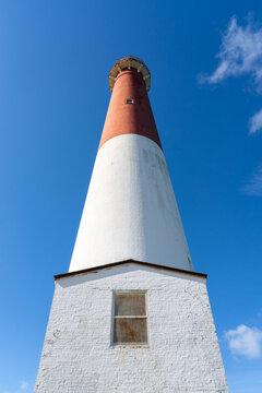 Barnegat Lighthouse on Long Beach Island nicknamed Old Barney