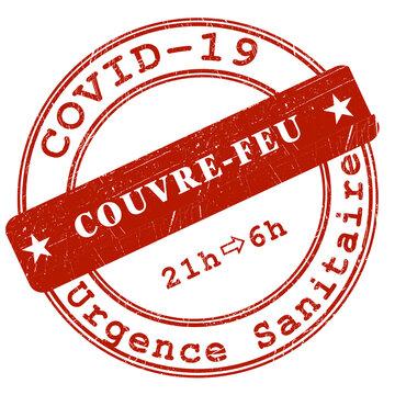 Cachet Couvre-Feu