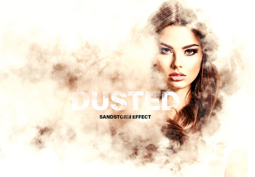 Dust Storm Dispersion Effect Mockup