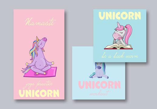 Unicorn Social Post Layouts