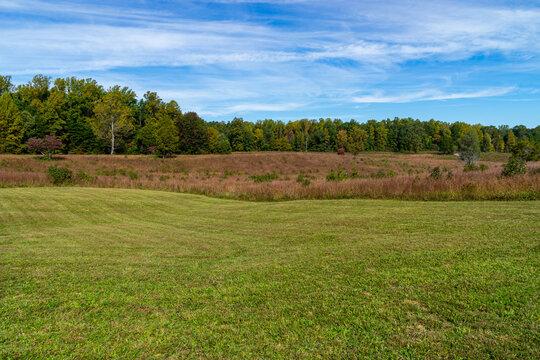 The Bloody Angle on the Spotsylvania Battlefield