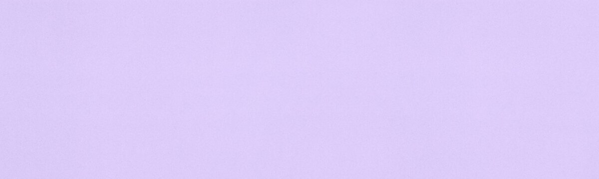 Lavender colored fine textured surface wide abstract background. Purple paper widescreen texture