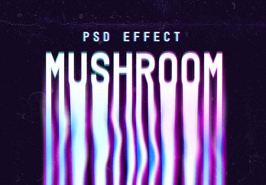 Liquid Psychedelic Text Effect