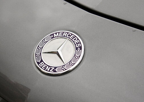 mercedes benz , logo de la marque allemende