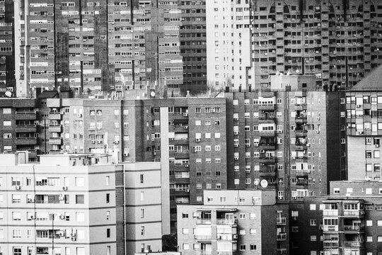 Edificos altos Madrid