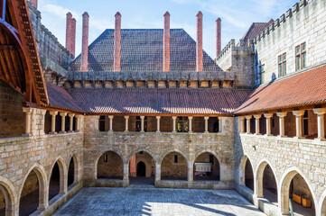 Palace of the Dukes of Bragança, Guimaraes, Minho, Portugal, Unesco World Heritage Site