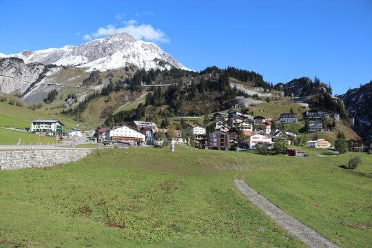 Arlberg Passstraße, Stuben, Österreich