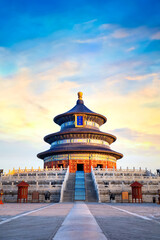 The Temple of Heaven in Tianjin, China