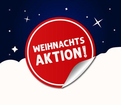 Weihnachts Aktion Rot Marketing Werbung Gewinnspiel Weihnachten Angebot Kampagne Advent Vektor