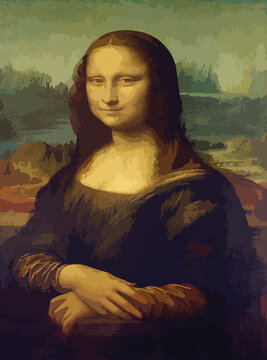 Monalisa - Leonardo da Vinci.